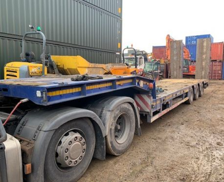 2005 FAYMONVILLE TRIAXLE EXTENDING LOW LOADER TRAILER (REF:D829)