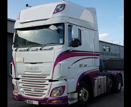 2013 EURO 6 DAF XF460 6X2 TRACTOR UNIT SUPER SPACE CAB (REF:D871)