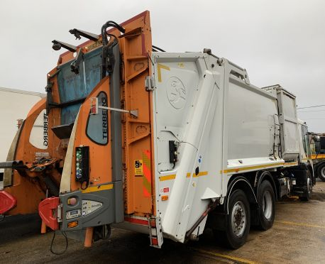 2012 DENNIS EAGLE RECYCLING DUSTCART (REF:D877)