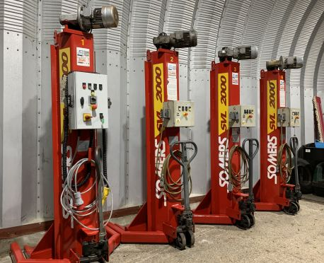 SOMERS SVL2000 MOBILE COLUMN LIFTS (REF:D859)