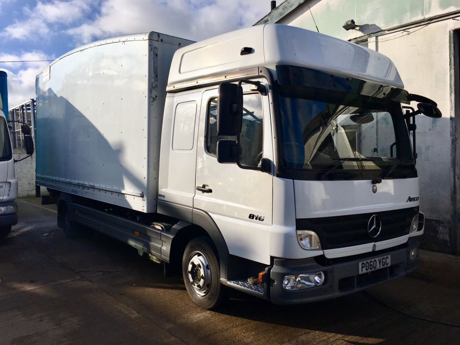 454ab8b286 Castle Contract Hire Ltd 2010 MERCEDES 816 ATEGO STREAMLINE GRP BOX ...